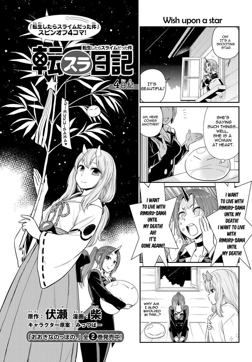 Tensura Nikki Tensei Shitara Slime Datta Ken 4 Read Tensura Nikki
